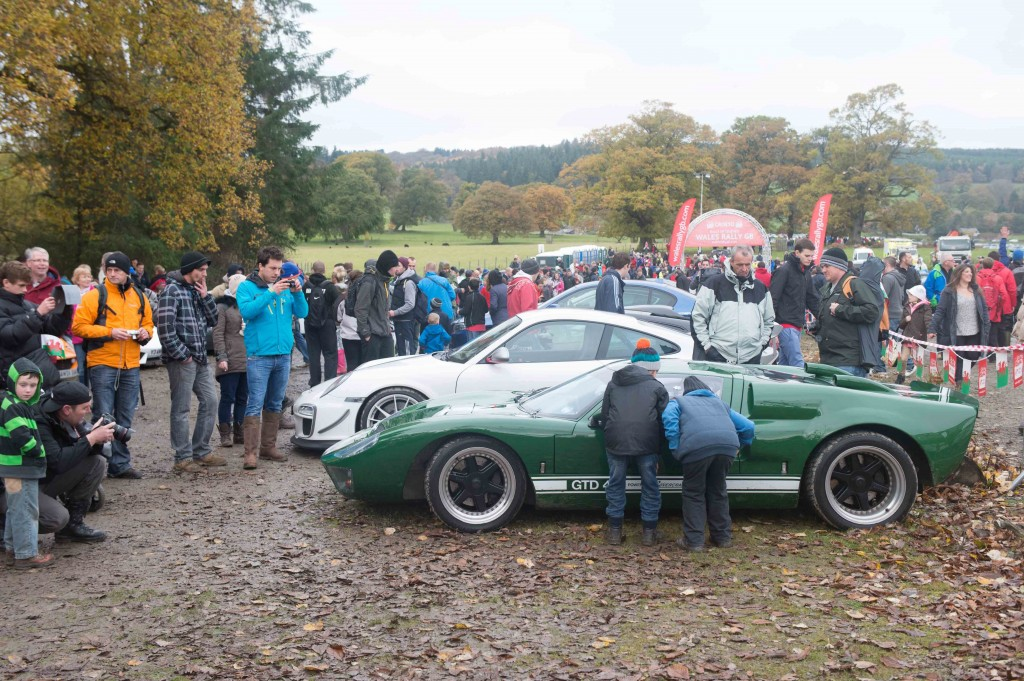 Supercars And Rally Legends Roar Into Chirk Castle Rallyfest